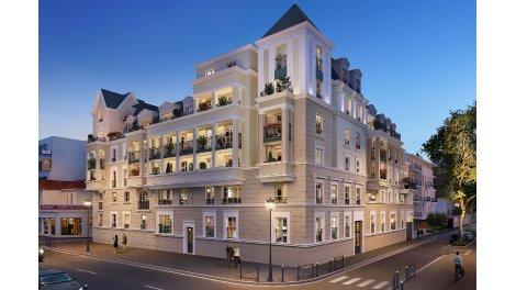 Appartement neuf Villa des Frênes investissement loi Pinel à Le Blanc Mesnil