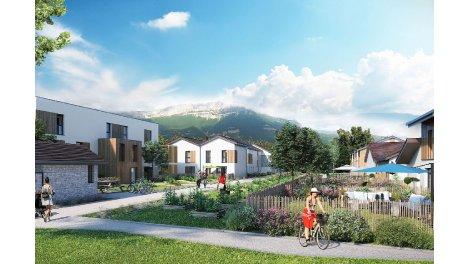 Appartements et maisons neuves Le Hameau du Laca investissement loi Pinel à Champagnier