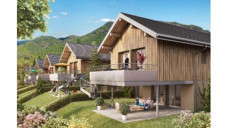 Maisons neuves Les Coteaux de Bromines investissement loi Pinel à Sillingy