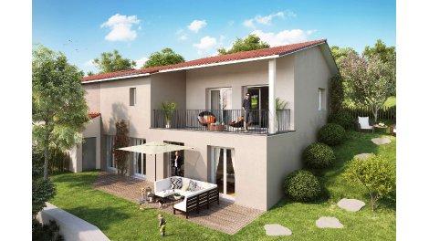 Maisons neuves Les Terrasses de la Maletière investissement loi Pinel à Vaugneray