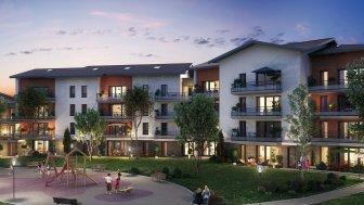 Appartements neufs Le Clos de la Bergerie investissement loi Pinel à Cessy