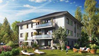 Appartements neufs Le Clos de Neuilly investissement loi Pinel à Neuilly-Lès-Dijon