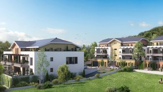 Appartements neufs Le Domaine du Crêt Muset investissement loi Pinel à Machilly