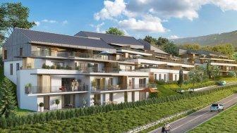 Appartements neufs Les Terrasses Pacôts investissement loi Pinel à Aix-les-Bains
