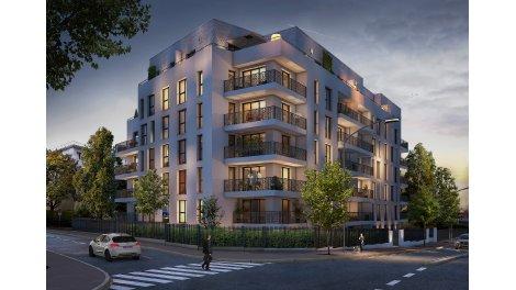 Appartement neuf Le Quai des Lumières investissement loi Pinel à Sceaux