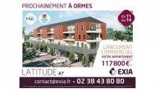 Appartements neufs Latitude 47 éco-habitat à Ormes