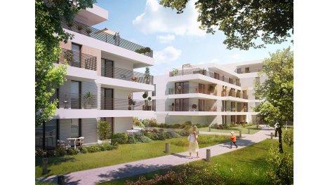 Appartement neuf O2 Loire investissement loi Pinel à Tours