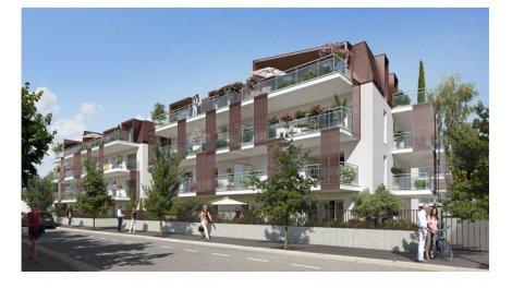 Appartement neuf Les Jardins du Petit Port éco-habitat à Aix-les-Bains