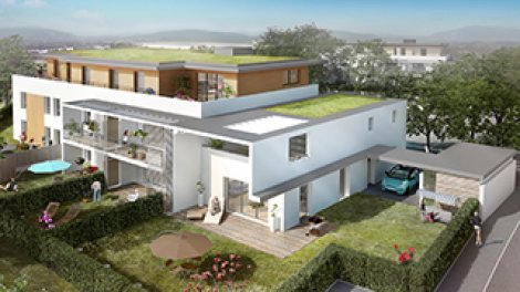 eco habitat neuf à Annecy-le-Vieux