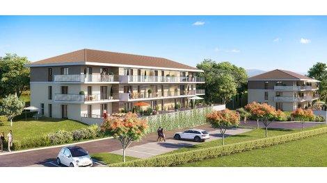 Appartement neuf Résidence le Saint Thomas investissement loi Pinel à Evian-les-Bains