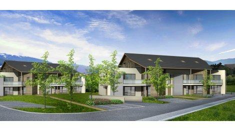 Appartement neuf Le Domaine du Grand Bargy investissement loi Pinel à Marignier