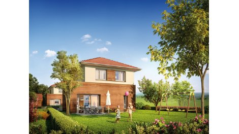 Appartements et villas neuves L'Ecrin éco-habitat à Peron