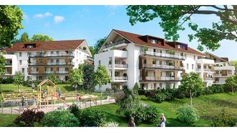 Appartement neuf Les Cinq Sens investissement loi Pinel à Poisy