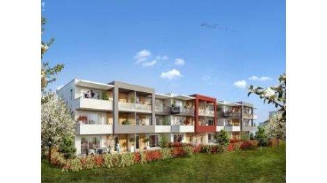 Appartements et villas neuves Le Domaine des Rubis investissement loi Pinel à Thonon-les-Bains