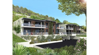 Appartement neuf Château Horizon investissement loi Pinel à Cagnes-sur-Mer