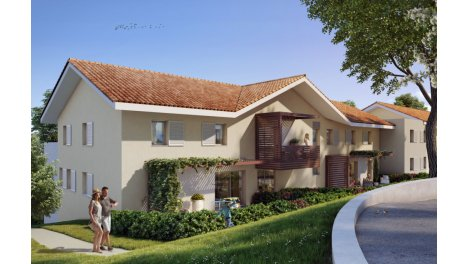 Appartement neuf Confiden'Ciel investissement loi Pinel à Saint-Cergues