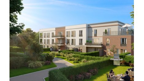 Appartement neuf Le Clos des Vergers investissement loi Pinel à Nanteuil-Lès-Meaux