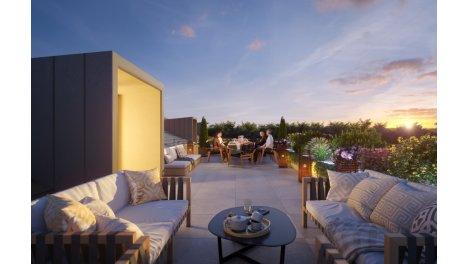 Appartement neuf Villa Beaujeu investissement loi Pinel à Divonne-les-Bains