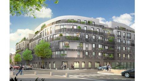 Appartement neuf Metropolitan investissement loi Pinel à Aubervilliers