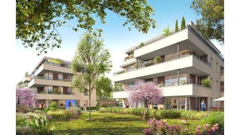 Appartement neuf Les Loges d'Or investissement loi Pinel à Champagne-au-Mont-d'Or