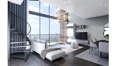 Appartement neuf Le Domaine d'Hestia investissement loi Pinel à Saint-André-Lez-Lille