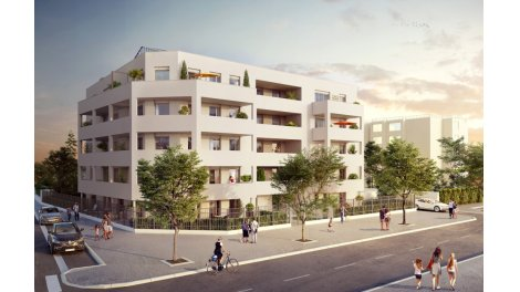 Appartement neuf Neocity investissement loi Pinel à Bron