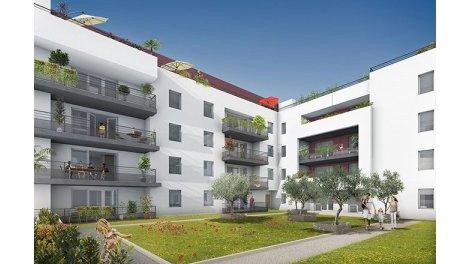 Appartement neuf Les Toiles Blanches investissement loi Pinel à Le Lavandou