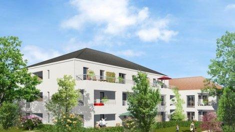 Appartement neuf Les Plurielles investissement loi Pinel à Egly