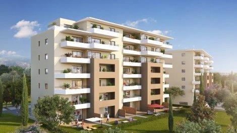 Appartements neufs Les Terrasses de la Gravona investissement loi Pinel à Ajaccio