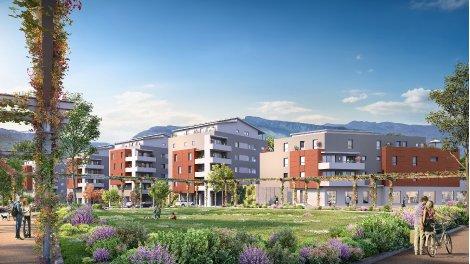 Appartement neuf Les Impériales investissement loi Pinel à Moirans