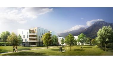 Appartements et maisons neuves Le Hameau des Poètes investissement loi Pinel à Fontanil-Cornillon