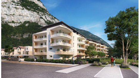 Appartements et villas neuves Domaine Parc & Village investissement loi Pinel à Sassenage