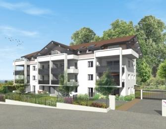 Appartement neuf Nouvel Angle investissement loi Pinel à Annemasse