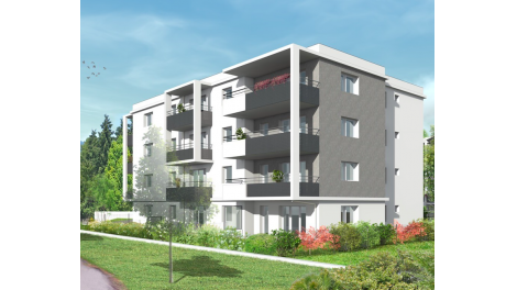 Appartement neuf So Pure investissement loi Pinel à Annemasse
