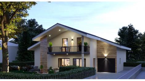 Villas neuves Les Quatre Saisons investissement loi Pinel à Veigy-Foncenex