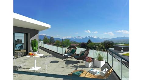 Appartement neuf Le Clos Lilas investissement loi Pinel à Vétraz-Monthoux