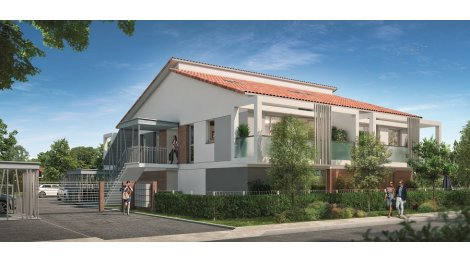 Appartement neuf Residence Azeria investissement loi Pinel à Toulouse