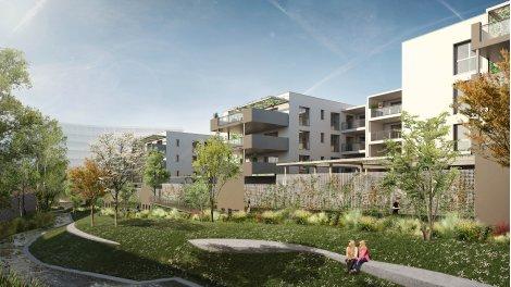 Appartement neuf Les Jardins de la Tiretaine investissement loi Pinel à Chamalières