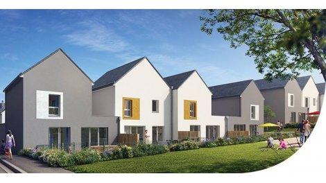 Maisons neuves Les Villas du Scorff investissement loi Pinel à Lanester