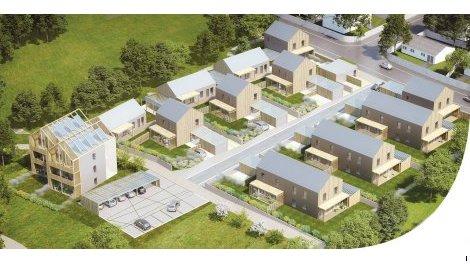 Appartements et maisons neuves Les Cottages du Lac à Couëron
