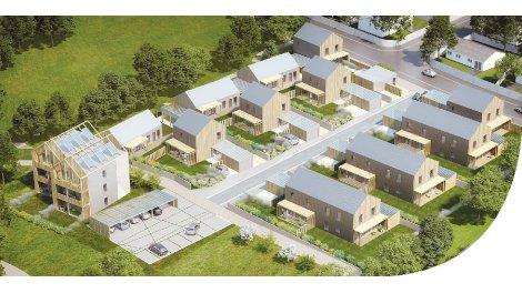 Appartements et maisons neuves Les Cottages du Lac investissement loi Pinel à Couëron