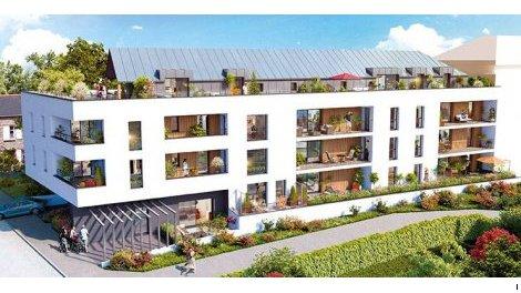 Appartement neuf Villa Plaisance investissement loi Pinel à Mordelles