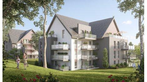 Appartement neuf Les Jardins du Villiers investissement loi Pinel à Bavilliers
