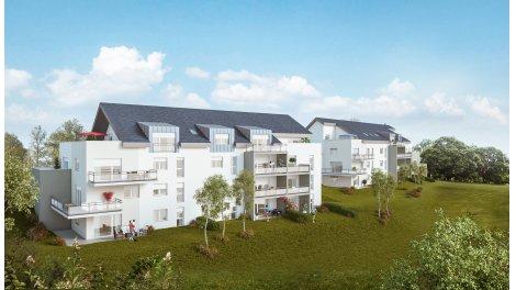 Appartement neuf Résidence Mataxa éco-habitat à Maiche
