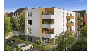 Appartements neufs Residence Estrella investissement loi Pinel à Armentières