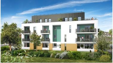 Appartement neuf Côté Parc investissement loi Pinel à Chanteloup-les-Vignes