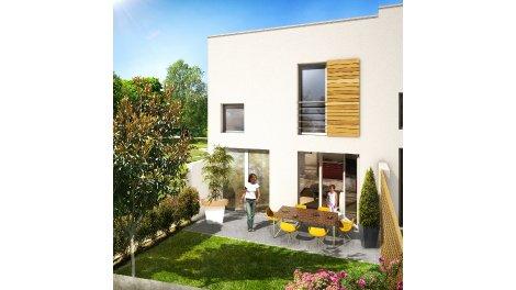 Appartements et villas neuves Parc Champeau éco-habitat à Chanteloup-les-Vignes