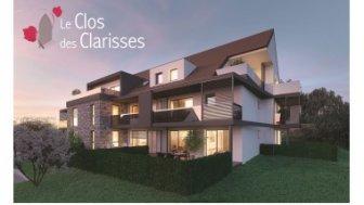 Appartements neufs Le Clos des Clarisses investissement loi Pinel à Sigolsheim
