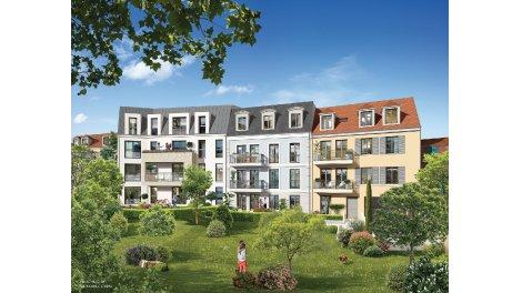 Appartement neuf Résidence la Salamandre investissement loi Pinel à Fontainebleau
