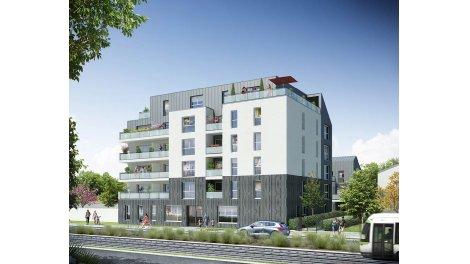 Appartements neufs Naonest investissement loi Pinel à Nantes